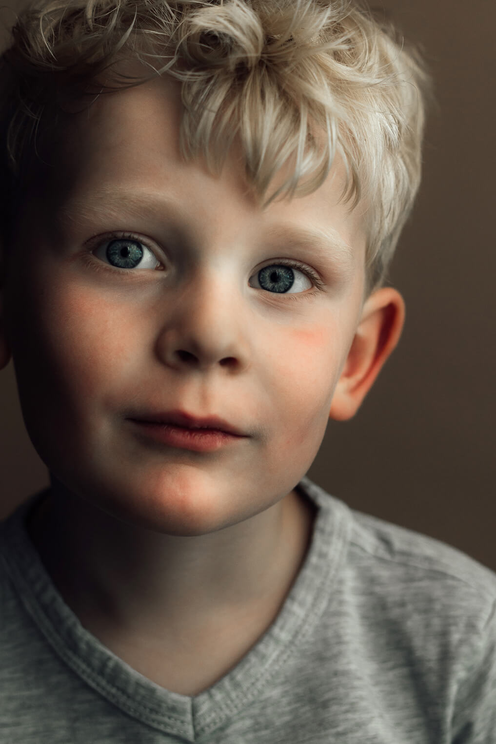 kinderportret close-up jongen
